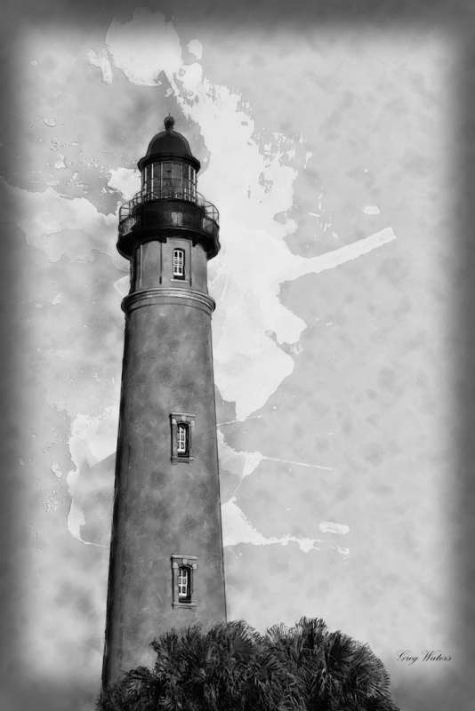 Ponce-Inlet-Lighhouse-bw-sm