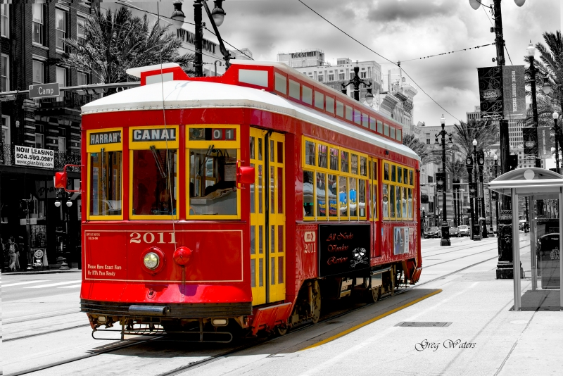 New Orleans-238 Trolly SC